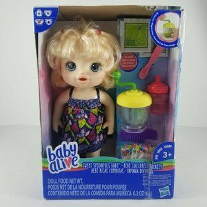 Baby Alive Sweet Spoonfuls Baby Doll Girl – Blonde